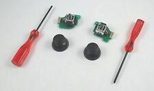 New Wii U Gamepad Analog Joystick Repair Kit - L & R Assembly, Thumbsticks, Tool