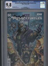 Batman/Teenage Mutant Ninja Turtles III #4 CGC 9.8 - James Tynion IV