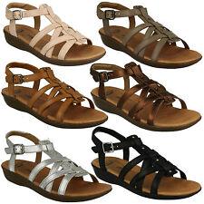 Sandali e scarpe casual gladiatore con tacco basso (1,3-3,8 cm) per il mare da donna