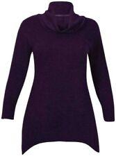 Langarm Damenblusen, - tops & -shirts aus Mischgewebe Größe 52