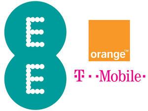 Prepaid  SIM-Karte EE UK Großbritannien  England / TMobile Orange UK / NEU