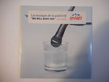 QUEEN COVER - PUB EVIAN : WE WILL ROCK YOU (REMIX) [CD SINGLE NEUF PORT 0€]