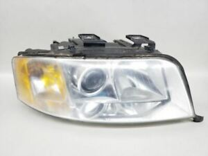 Passenger Headlight 6 Cylinder Halogen Fits 02-04 AUDI A6 448437