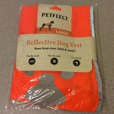 Petflect Size Large Reflective Dog Vest (Seen from over 500 ft. away)