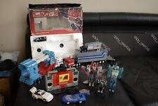 Transformers G1 Vintage X10,Optimus Prime Boxed,Blaster,Hound,Tracks,V Rare,Look