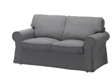 IKEA EKTORP 2-Seater Sofa Cover - Nordvalla Dark Gray