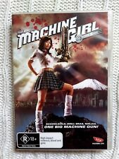 THE MACHINE GIRL – DVD - R-4, LIKE NEW, FREE POST WITHIN AUSTRALIA