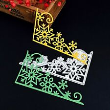 Snowflake Cutting Dies Stencils DIY Scrapbook Album Embossing Cards Paper Craft