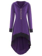 Handmade Womens Steam Punk Tailcoat Jacket Gothic Victorian Coat / TOP SELLER