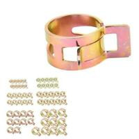 60Pcs Fuel Line Hose Spring-Clip Water Pipe Air Tube 6/9/10/12/14/15 Clamps M2U4