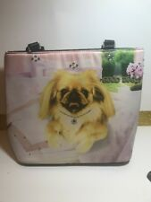 NWOT Rhinestone Pekinese Purse By Good Dog