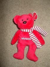 Red Stewart Plush Bear - Stewart Title Co 2007