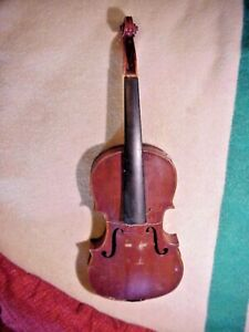 Antique  FINELY MADE  VIOLIN Needs Restore