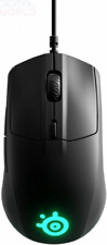 SteelSeries Rival 3 - Gaming Mouse - 8,500 CPI TrueMove Core Optical Black