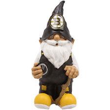 Boston Bruins NHL hockey puck yard dorm patio Garden statue figure Gnome 8-inch