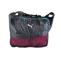 Puma Gym Workout Bag Mujer Bolso de Bandolera Fitness Ocio Aprox. 42x41x17 Nuevo