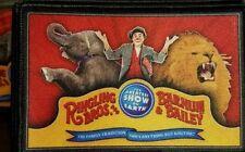 Ringling Bros. Barnum & Bailey Circus David Larible Elephant Lion promo patch MT