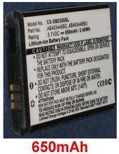 Batterie 650mAh type AB463446BC AB463446BU Pour Samsung GT-E2530