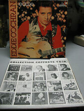 EDDIE COCHRAN  COLLECTION COFFRET 3 DISQUES  1551743  FRANCE NM