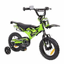Kinderfahrrad Kawasaki Kasaii Moto 12 Zoll MX12 grün - Cross BMX - Rücktrittbrem