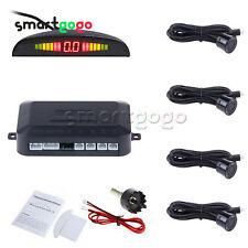 Black LED Display Car 4 Parking Sensor Reverse Backup Radar Alarm KitBSG