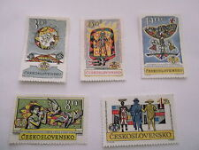 Historical Events Czech & Czechoslovakian Stamps