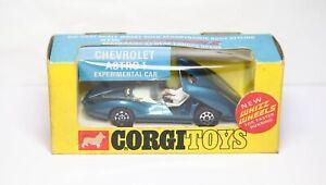 Corgi 347 Chevy Astro 1 Experimental Car In Its Original Box -Near Mint Vintage