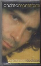 ANDREA MONTEFORTE - Inventiamoci qualcosa - MC MUSICASSETTA 1998 SIGILLATA