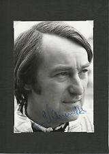 GÉRARD LARROUSSE MAIN SIGNÉS ORIGINAL PÉRIODE PORTRAIT PHOTOGRAPHIE PORSCHE 917 F1