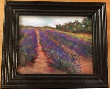 New Mexico artist Original Miniature Pastel Painting from Sharon Jensen Provence