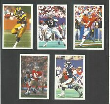New listing 5 X 1986 EXCELLENT ORIGINAL CARDS QUESTION OF SPORT AMERICAN FOOTBALL MARINO ETC