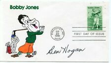 BEN HOGAN: PGA Legend: 1981 Bobby Jones First Day Cover Autographed