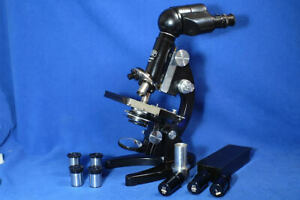 Zeiss Binocular Microscope  Mint in Cabinet Collectable Useable