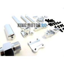 1/5 King Motor Aluminium Roue de Secours Pneu Support Transporteur Kit Hpi Baja