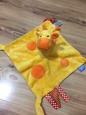 The Gro Company Yellow Giraffe Baby Comforter Orange Puppet Blankie Baby Douie