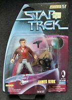 Star Trek James Kirk, Warp Factor Series 5 Playmates figure 1998 NEW