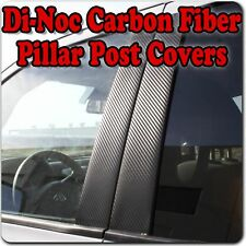 Di-Noc Carbon Fiber Pillar Posts for Cadillac CTS 08-13 (4dr Sedan) 6pc Set Door