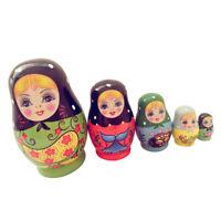 Soccer World Cup 2018 Zabivaka Russian Stacking Nesting Dolls Matryoshka 7 Pcs