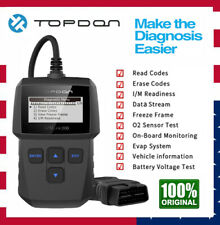 Topdon OBD2 Scanner Automotive Diagnostic Tool Code Reader Engine Fault Checker
