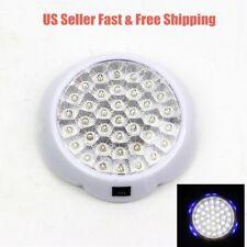 5W 12V 6000K White LED RV Caravan Trailer Boat Interior Ceiling Dome Light-639B