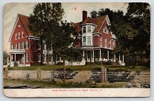 Quincy Illinois~Anna Brown's Home for Aged~11 Year Olds Set Fire 2012~1908 PC
