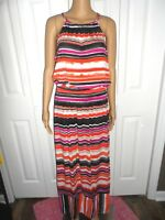 Pull On Maxi Skirts APT.9 Elastic waist Multi Color 96/% polyester 4/% spandex