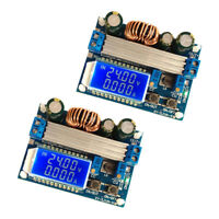 2x DC 4A Step-Up Down Power Supply Module 5.5-30V to 0.5-30V Auto Buck Boost