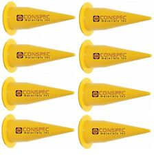 COX 2N1006 Yellow Nozzle Cones 8 PACK for 20-oz Caulking Gun Sausage Tips