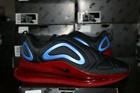 Nike Air Max 720 Black Blue Red Men's Lifestyle Shoes Sneakers AO2924-014 NEW