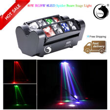 RGBW 80W 8LED Spider Beam Moving Head Stage Lighting DMX DJ Disco Party Wedding