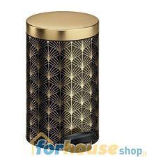 Pattumiera metallo 14 litri deco 1 oro nero meliconi
