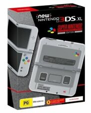 New Nintendo 3DS XL SNES Edition Console