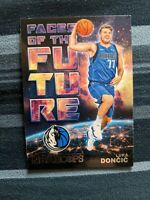 2018-19 LUKA DONCIC NBA HOOPS FACES OF THE FUTURE