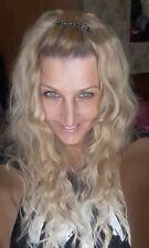 Longue Perruque Luxe Sexy Adulte Femme Cheveux Brune Blonde Wigs Déguisement